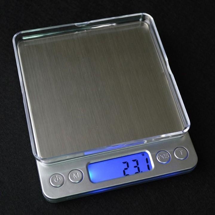 Cân điện tử 500g - 0.01g Cân nhà bếp có độ chính xác cao