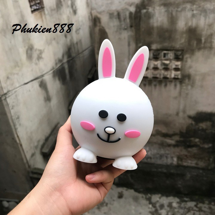 Loa bluetooth gấu Line Friends Cute