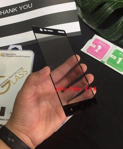 Miếng dán kính cường lực Nokia 3 Full màn Glass