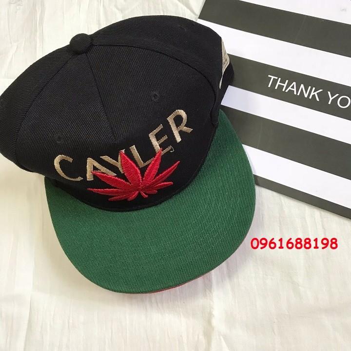 Mũ snapback Cayler Cannabis