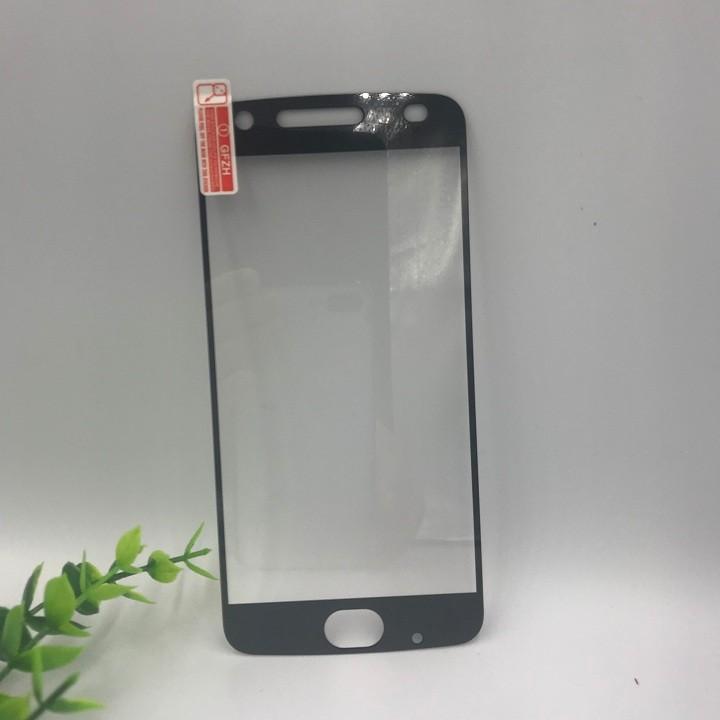 Combo kính cường lực và ốp silicon Moto Z2 Play Full màn Glass