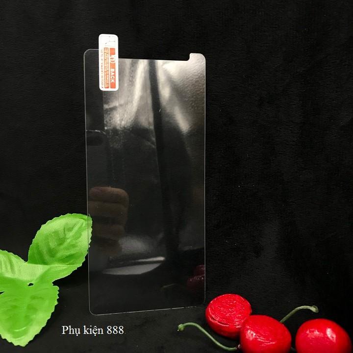 Combo kính cường lực và ốp silicon Wiko View Max Glass