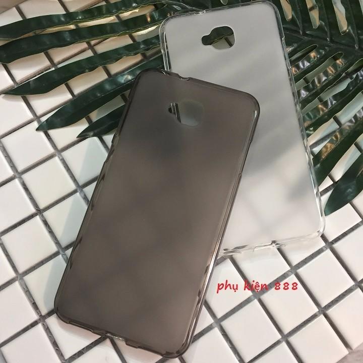 Combo kính cường lực và ốp silicon Zenfone 4 Selfie Full màn Glass