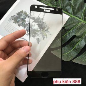 Miếng dán kính cường lực Motorola Moto X4 Full màn Glass