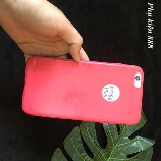 Ốp lưng cho Iphone 6 Plus trơn mịn khoét logo táo