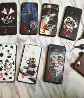 Ốp lưng cho Huawei Nova 3i họa tiết nhiều hình có iring kèm dây đeo