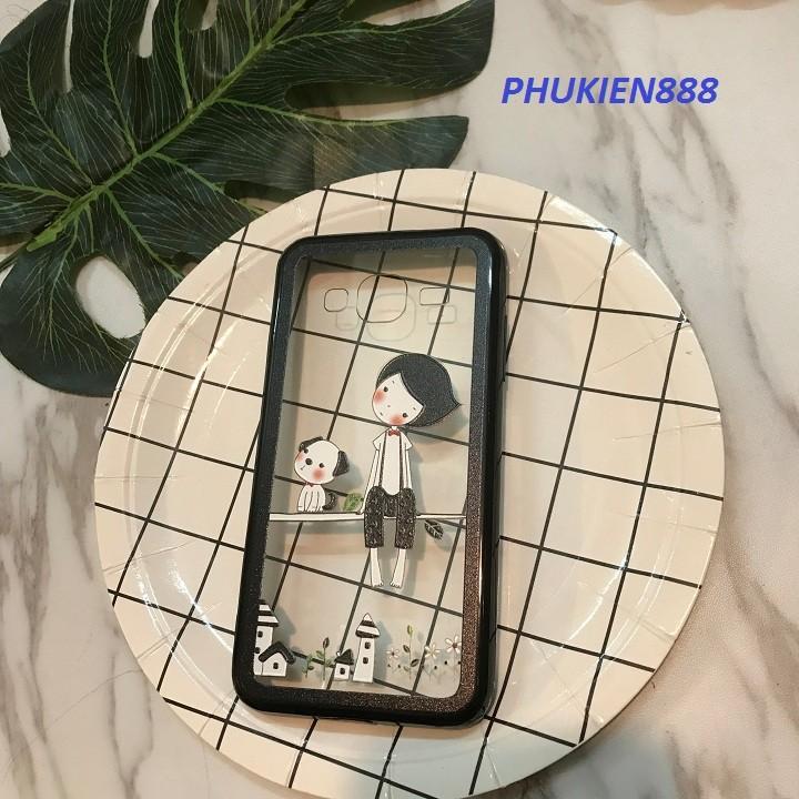 Ốp lưng Samsung Galaxy J3 2016 cô gái hiệu Ultra thin
