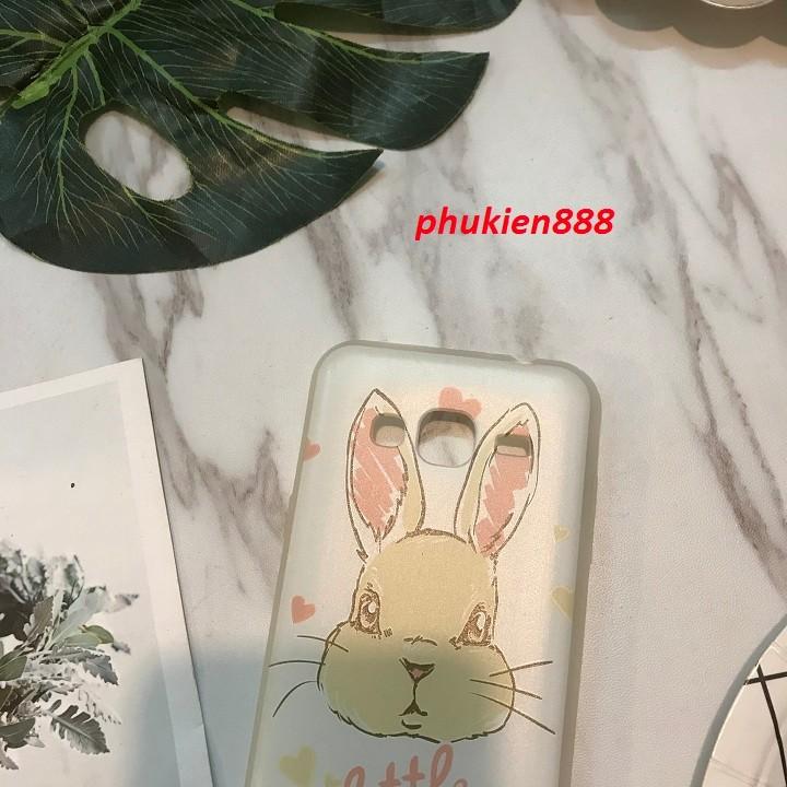 Ốp lưng Samsung Galaxy J3 2016 hình thỏ dễ thương