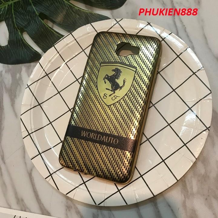 Ốp lưng Samsung Galaxy J5 Prime silicone bóng hình ngựa