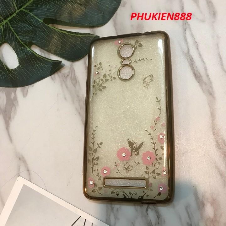Ốp lưng Samsung Galaxy Note 3 silicone dẻo đính đá