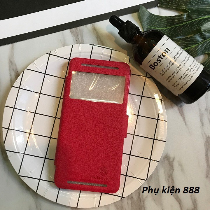 Bao da HTC One E8 Dual hiệu Nillkin