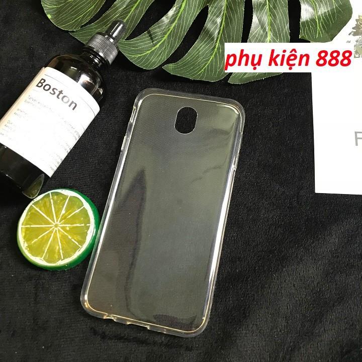 Ốp lưng Samsung Galaxy J7 Pro silicon trong suốt