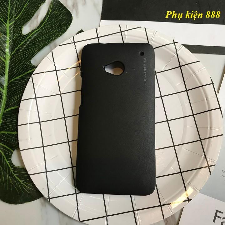Ốp lưng HTC One M7 cứng trơn hiệu Metallic