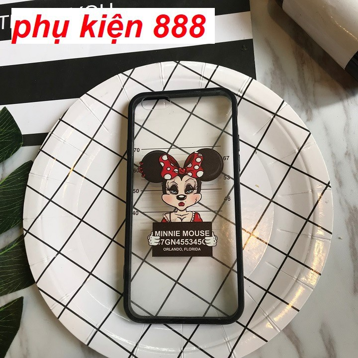 Ốp lưng Iphone 6 nhựa cứng viền dẻo