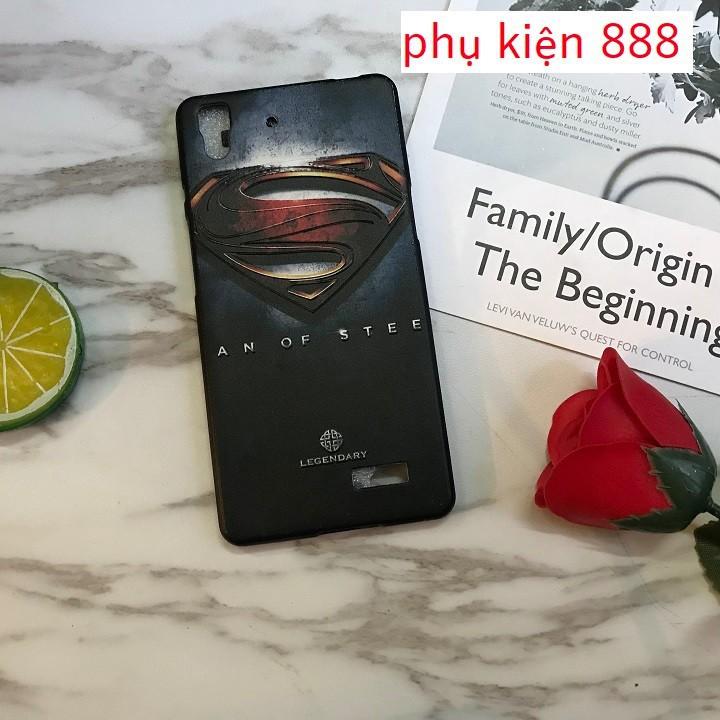 Ốp lưng Oppo R7 silicon siêu anh hùng