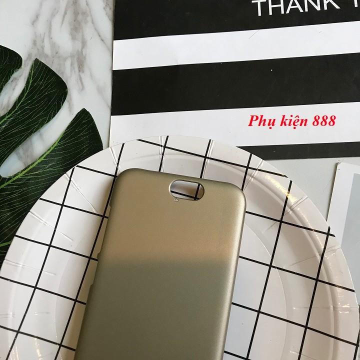 Ốp lưng Samsung Galaxy A9 cứng trơn hiệu Metallic