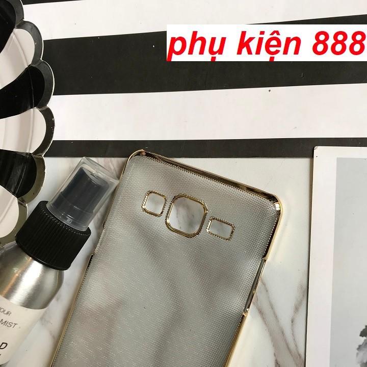 Ốp lưng Samsung Galaxy On5 cứng viền vàng hiệu Isen