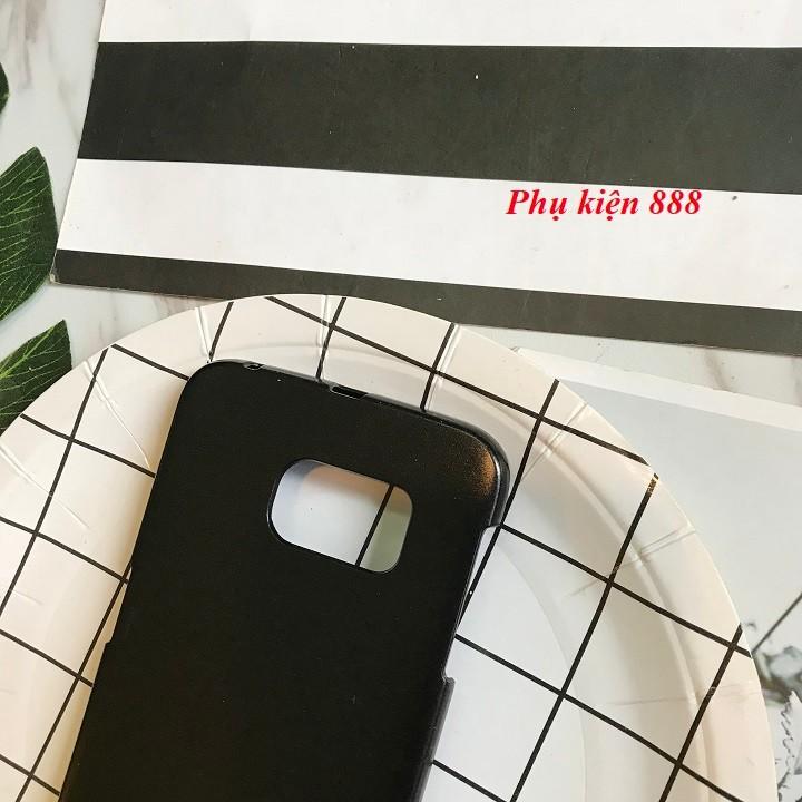 Ốp lưng Samsung Galaxy S6 Edge cứng trơn hiệu Aiqaa