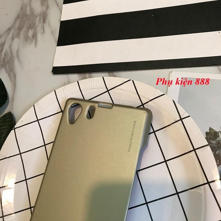 Ốp lưng Sony Xperia Z1 cứng trơn hiệu Metallic