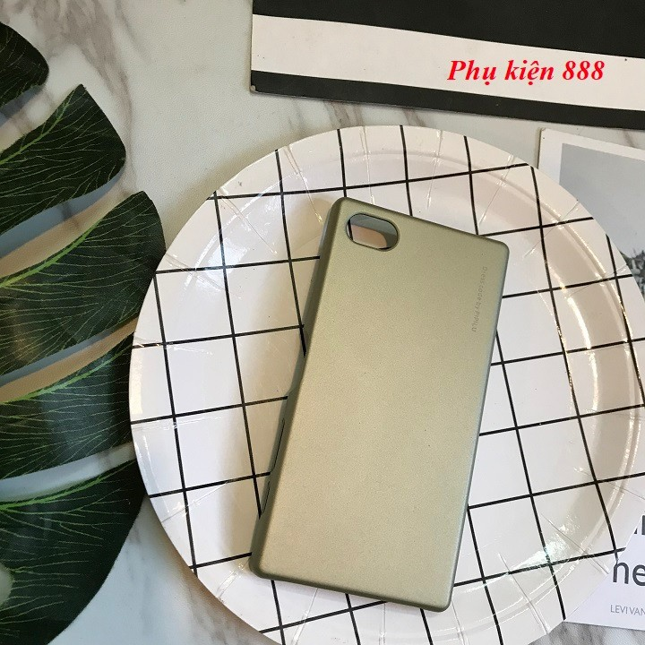 Ốp lưng Sony Xperia Z5 mini cứng trơn hiệu Metallic