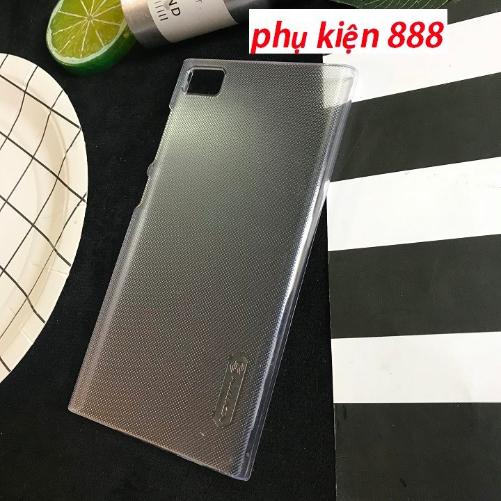 Ốp lưng Xiaomi Mi 3 trong suốt Nillkin cứng