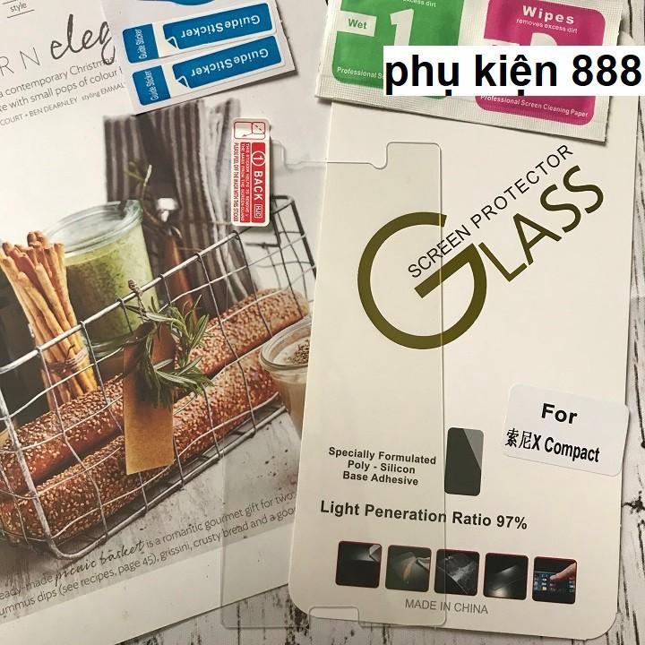 Miếng dán kính cường lực Sony Xperia X Compact Glass