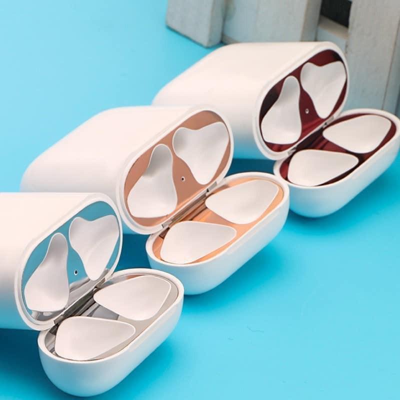 Miếng dán skin chống bụi cho case Airpods
