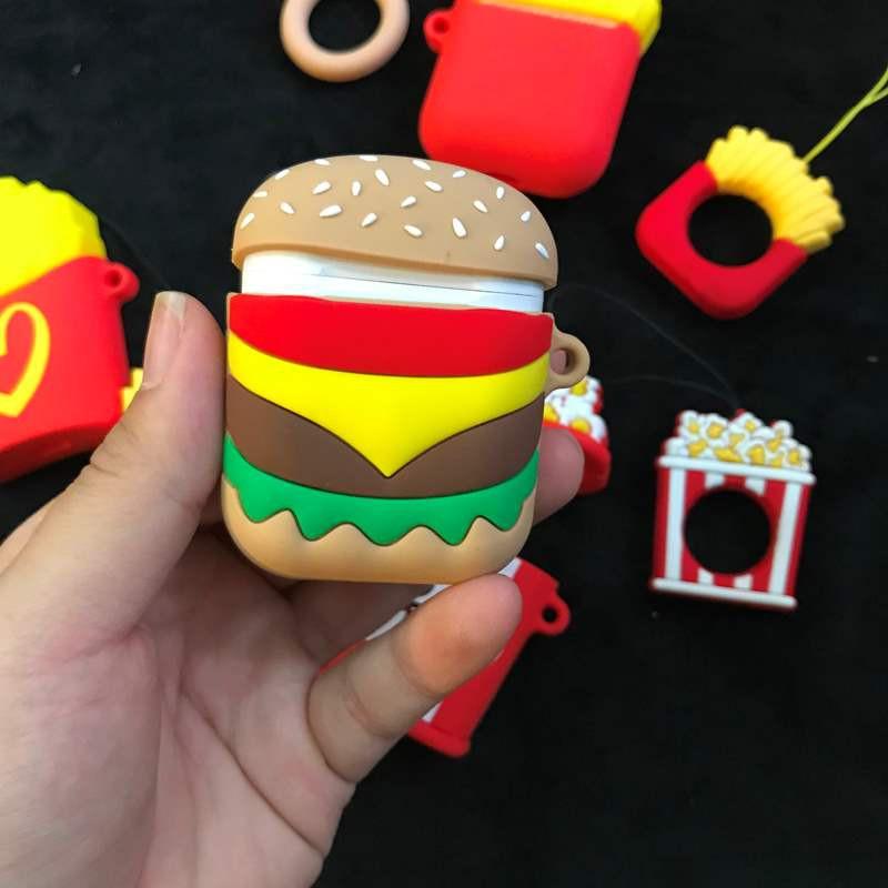 Case Airpod Mcdonal Popcorn Hamburger