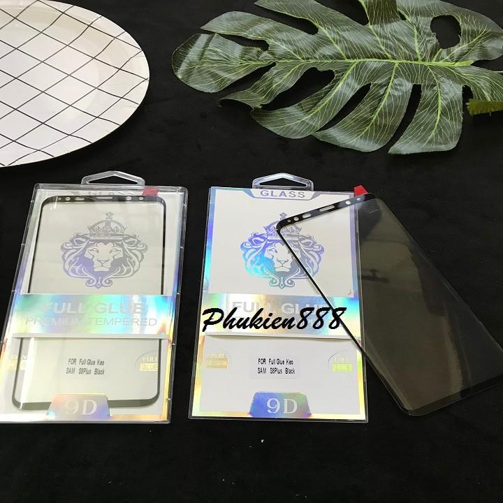 Miếng dán kính cường lực Samsung Galaxy S8 Plus Full màn Cong viền 9D