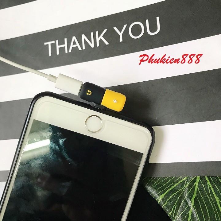 Jack chia cổng lightning cho Iphone hình con nhộng