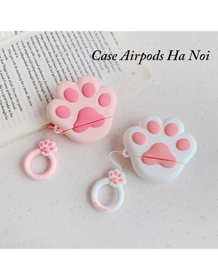 Case Apple Airpods hình chân chó dễ thương