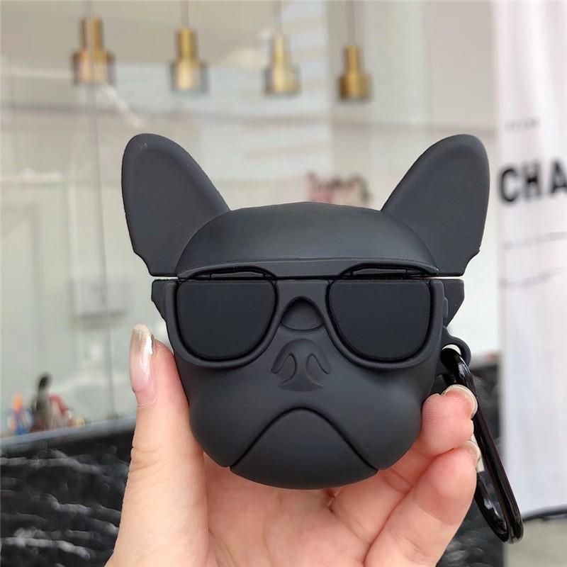 Case Airpods Chó Pug Ngầu